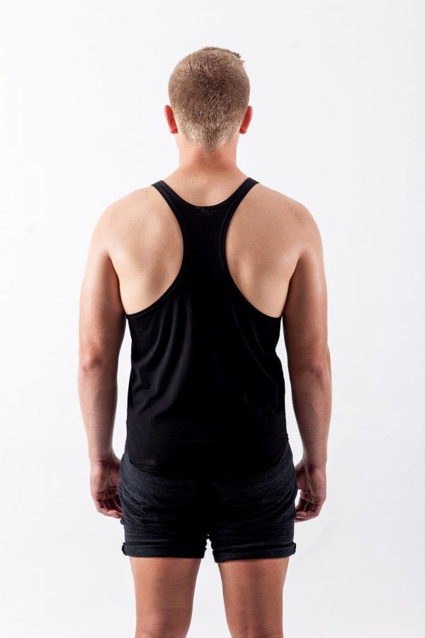 Stringer Singlet Back